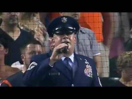 God Bless America Funny Fail at Detroit Tigers Game