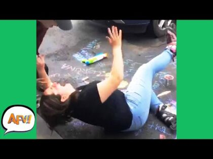FAILING With Feet FLYING! 😅 | Funniest Fails | AFV 2020