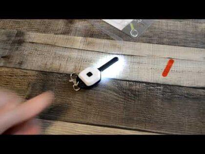 Daiso COB LED Key Light Car Gadget Review