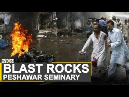 Bomb blast in seminary in Pakistan's Peshawar | Peshawar Blast | World News