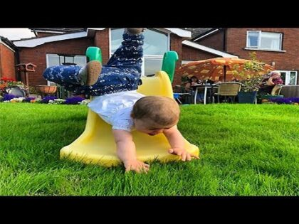 Funniest Baby Fail Playing Slide – Funny Fail Videos