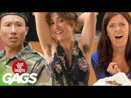 Crazy Body Hair, Doomed Marriages, & Disgusting Diapers   JFL Throwback Pranks