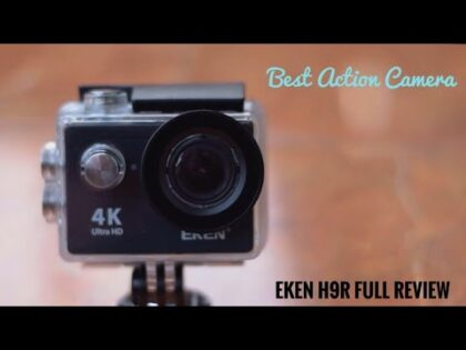 My New Gadget Review।  Eken H9r full Review ।  Low budget Best Action Camera