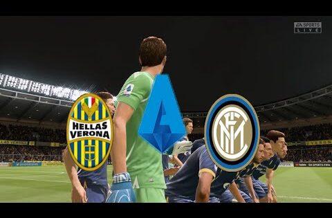 Hellas Verona Vs Inter | FIFA 20 | Italy Serie A @Stadio Marcantonio Bentegodi Round 31