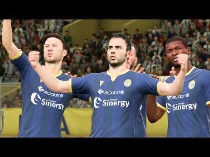 Parma Vs. Hellas Verona   Italian Serie A 19 /20   Gameplay (PS4)