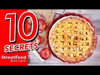 Apple Pie   Recipe   10 Secrets   Street Food Recipe Channel