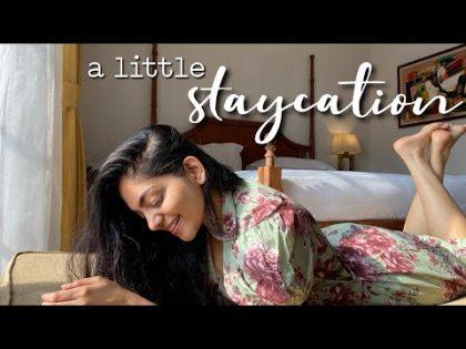 A little staycation with Ishaani & Hansika 🌸 | Ahaana Krishna | Travel VLOG