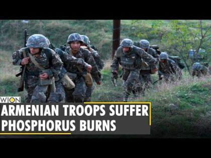 Armenia accuses Azerbaijan of using chemical agents | Nagorno-Karabakh war | World News