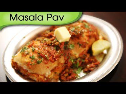 Masala Pav   Mumbai Street – Fast Food Recipe   Ruchi's Kitchen
