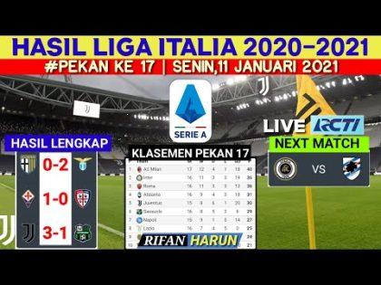 Hasil Liga italia Tadi Malam   Juventus vs Sassuolo   Klasemen Serie A Terbaru   bola tadi malam