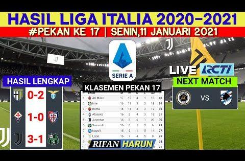 Hasil Liga italia Tadi Malam | Juventus vs Sassuolo | Klasemen Serie A Terbaru | bola tadi malam