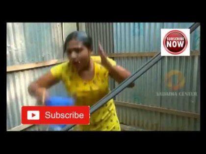 Desi aunty Gosol HOT Transparent Sexy Bangla Vadaima Bath Part-1
