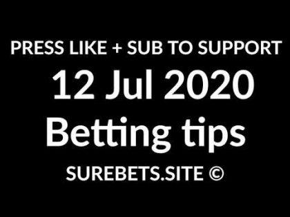 Football Betting Tips Today – 12 July 2020 – Premier League, La Liga, Serie A, K League Predictions