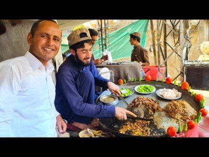 Street Food in Quetta Balochistan   Tawa Fry Kaleji Recipe   Kaleji Kabab    Mubashir Saddique