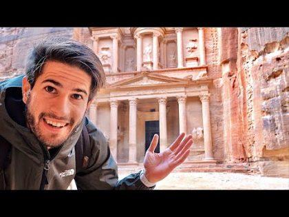 JORDAN TRAVEL VLOG: Exploring Petra & The Dead Sea (travel with me)