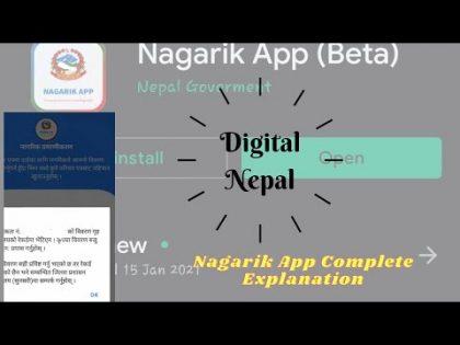 Nagarik App | Complete Explanation from Registration to Error Solution | नेपालीमा