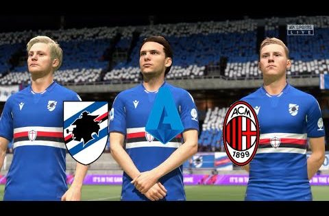 FIFA21 Italy Serie A | Sampdoria Vs Milan @ Luigi Ferraris Stadium Round 10