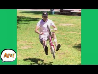 Tiny Bike, BIG FAIL! 🤣   Funny Fails   AFV 2021