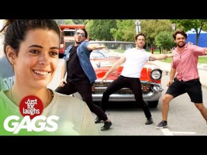 Greasers Get The Whole Street Dancing