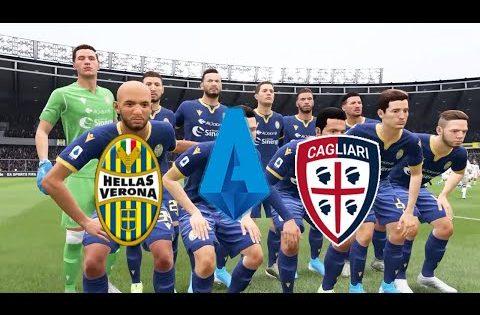 FIFA 20 | Italy Serie A,Hellas Verona VS Cagliari @Stadio Marc'Antonio Bentegodi | Round 25