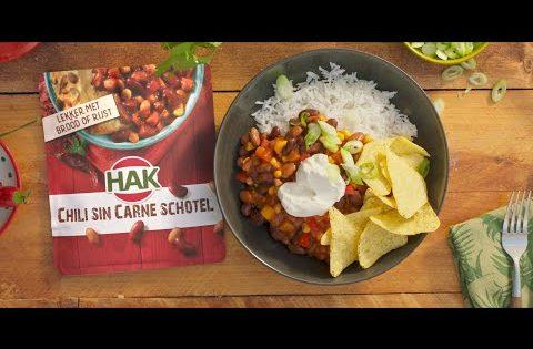 TV Commercial – Je Chili wordt Blij met HAK erbij!