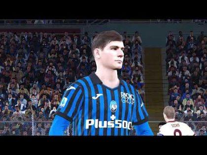 ATALANTA VS AS ROMA – GIORNATA 13 SERIE A ITALY   GAMEPLAY EFOOTBALL PES 2021PC