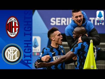Milan 0-3 Inter   Inter Go Four Points Clear with HUGE Derby Win!   Serie A TIM