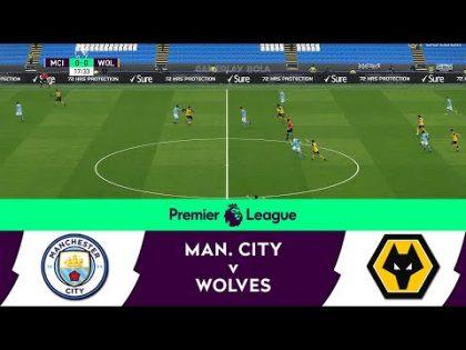 Man City v Wolves   English Premier League 2021 Matchday 27