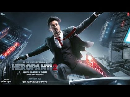 Heropanti 2 Official Trailer | Tiger Shroff | Kriti Sanon | Sajid Nadiadwala
