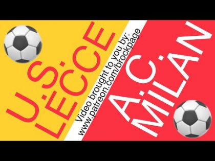 ⚽️ Lecce vs AC Milan Free Football Prediction (6-22-20) Italian Serie A Soccer Betting Picks & Odds
