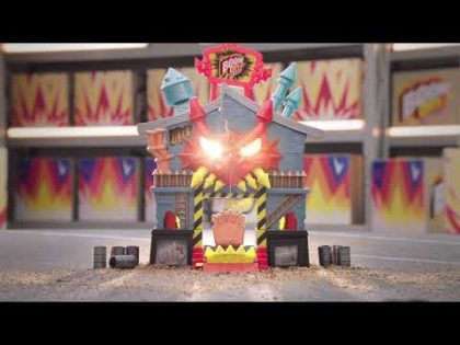 Boom City Racers Fireworks Factory 20 Second TV Commercial   RIP, RACE, EXPLODE!