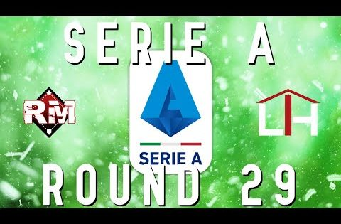 Sports Betting Picks and Plays for Serie A Round 29