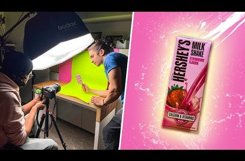 How I Shot a HERSHEY'S TV Commercial at Home | Full Behind The Scenes |