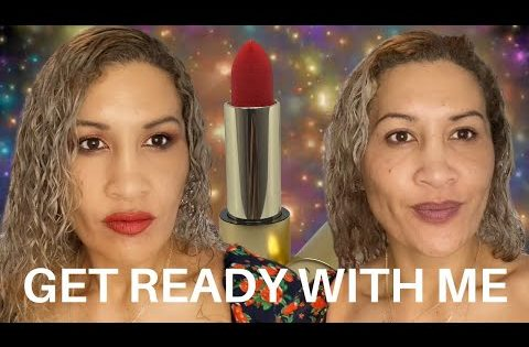 GET READY WITH ME   LISA ELDRIDGE LIPSTICKS   HEALTH AND BEAUTY OVER 40   BEST MAKEUP FOR OVER 40