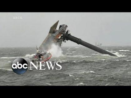 Desperate search for capsized vessel off Louisiana coast | WNT