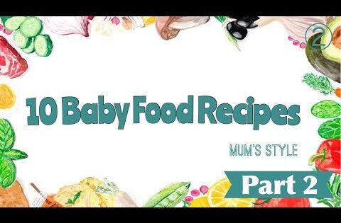 Baby Food Recipe || 10 Homemade Baby Foods