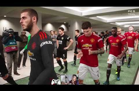 PES TOULKORK 2021-Manchester United vs Burnley | Highlights | Premier League | Gameplay PC
