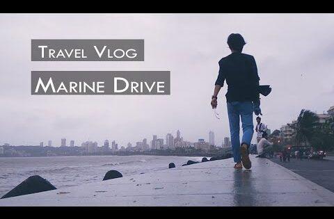 Marine Drive Travel Vlog Mumbai Maharashtra || Travel tips in Mumbai || मरीन ड्राइव मुंबई