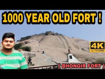1000 YEAR OLD FORT ! | BHONGIR FORT | TRAVEL VLOG  21 | IMHABEEB (YADADRI BHUVANAGIRI) 10TH CENTURY