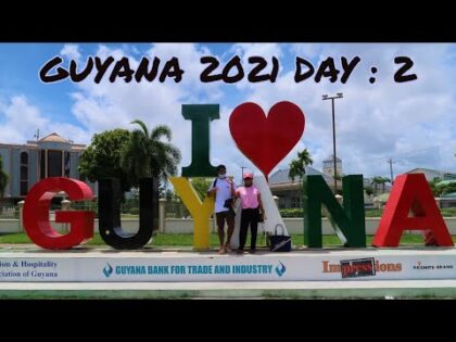 Georgetown Seawall and Popular Attractions – GUYANA TRAVEL VLOG 2021!!
