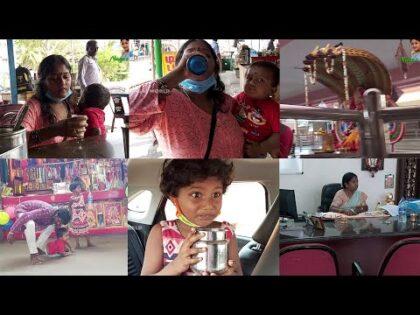 அம்மாவ பாக்க போறோம் / Traveling with new car Chennai to pattukkottai / Traveling vlog / Diml