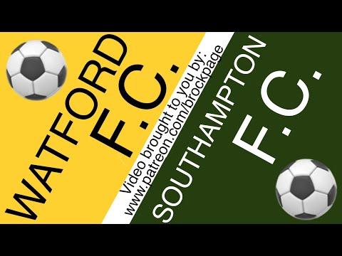 ⚽️ Watford vs Southampton Free Football Prediction (6-28-20) English Premiere League Picks Odds