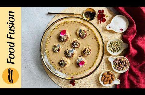 Caramel Rasmalai Recipe by Food Fusion (Ramzan Special)