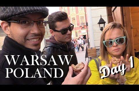 TRAVEL VLOG: Warsaw Poland | Day 1