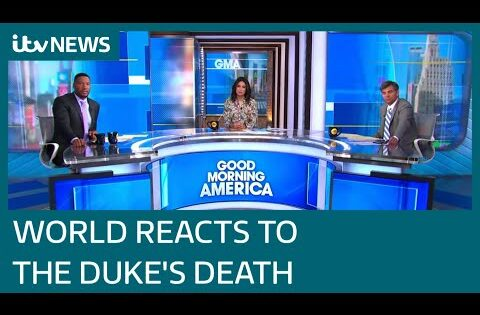 Prince Philip: How the world reacted as tributes pour in for Duke | ITV News