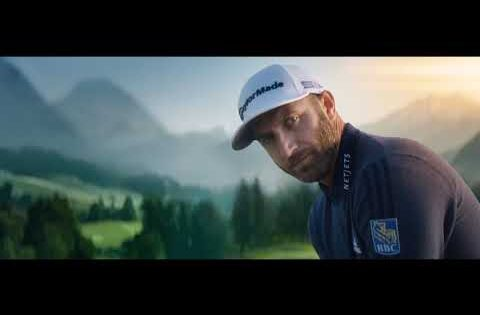 Dustin Johnson Team RBC Golf 2020 TV Commercial
