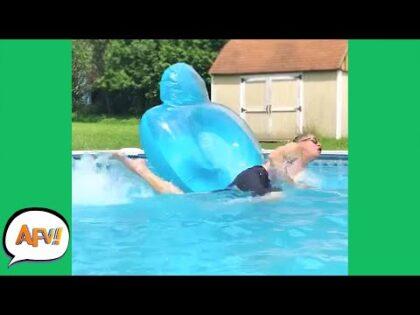 Flip, Flop, FAIL! 🤣 | Funny Outdoor Fails | AFV 2021