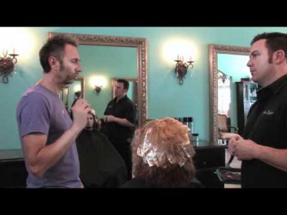 Makeover at the Eddie James Salon – Health Beauty Life The Show