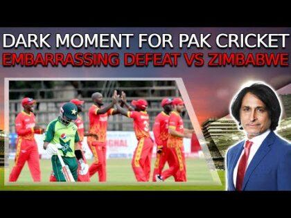 Dark Moment for Pakistan Cricket   Embarrassing defeat vs Zimbabwe