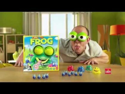 FOOL THE FROG TV COMMERCIAL BY GOLIATH